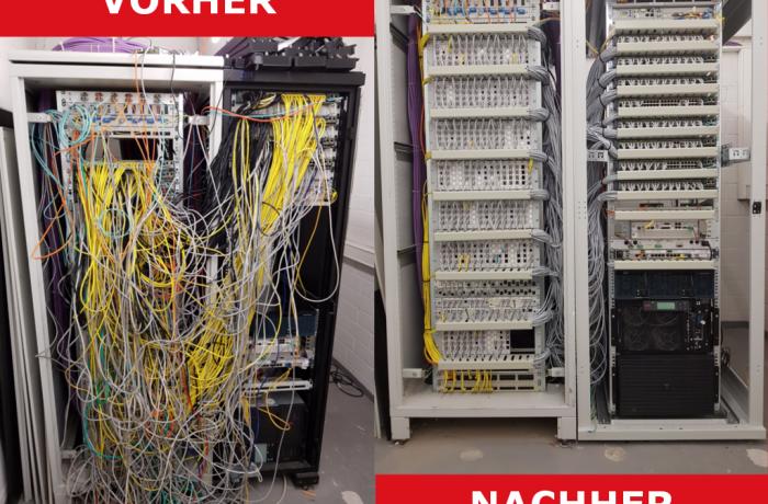 Umbau Serverschränke