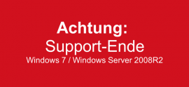 Achtung! Support-Ende